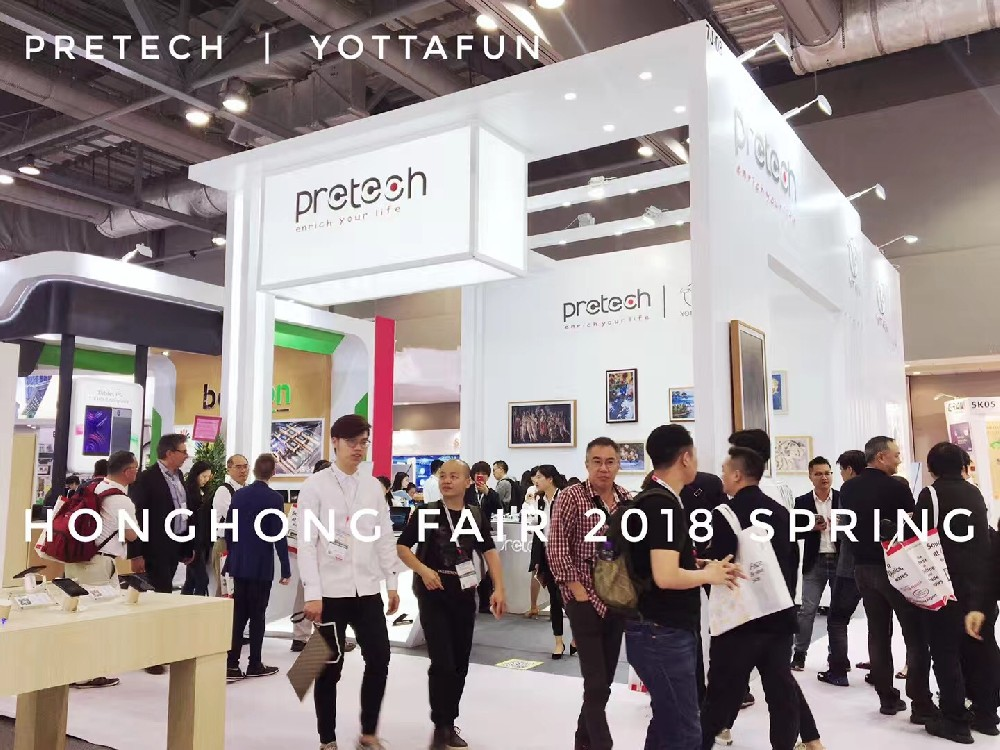 Pretech & Yottafun In Global Sources Mobile Electronics  2018 Spring Show