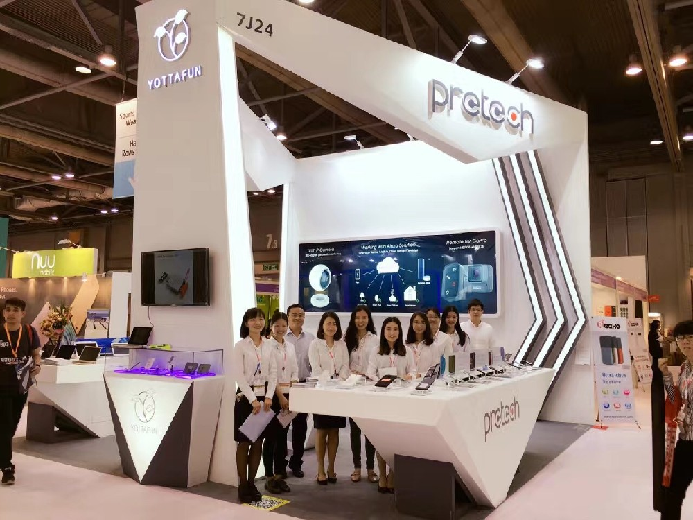Pretech & Yottafun In Global Sources Mobile Electronics  2017 Spring Show